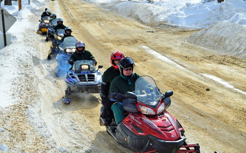 Pine Tree Society Snowmobile Ride-in