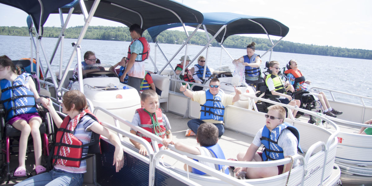 Pine Tree Camp pontoon boats