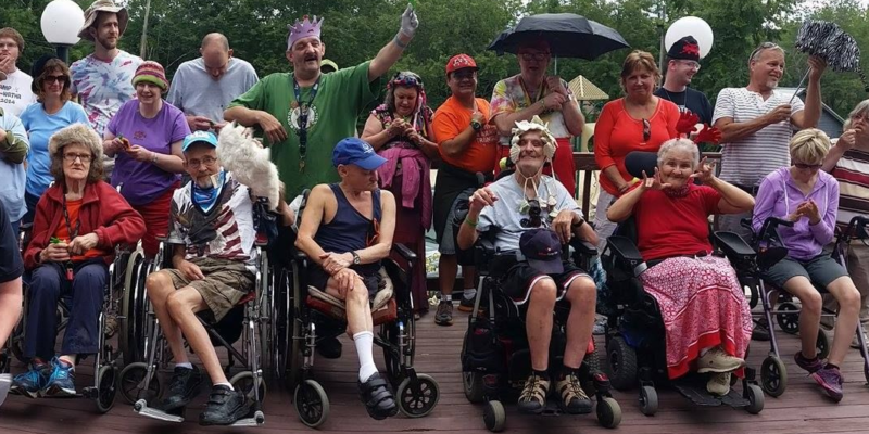Camp Sign offers a fun, language-accessible camp experience for deaf adults