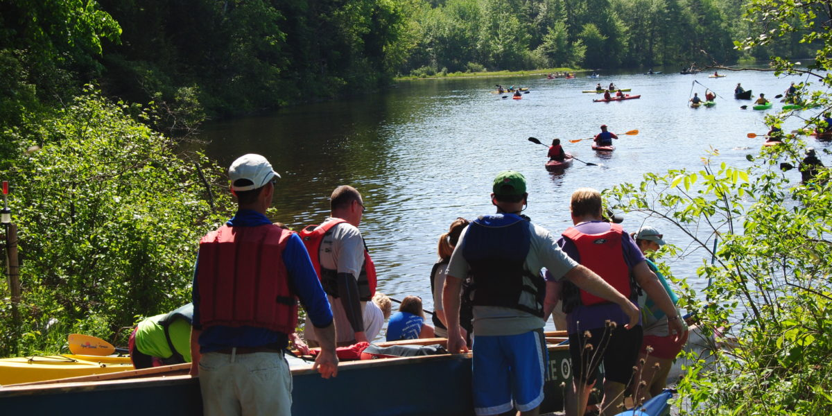 Paddle for Pine Tree Camp