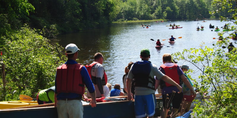"It Was Awe Inspiring: 202 ""Paddle for a Purpose"" on the Kennebec"