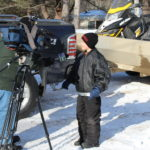 Media Coverage at Dysart's Snowmobile Ride-in
