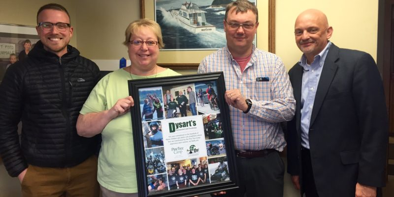 Pine Tree Society Thanks Dysart's for Support
