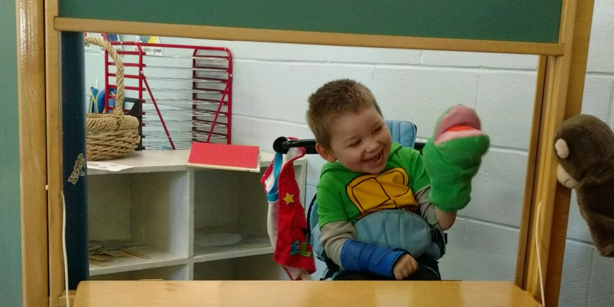 Early Learning Center Puppet Show