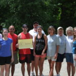 Team Jude at Paddle for Pine Tree Camp