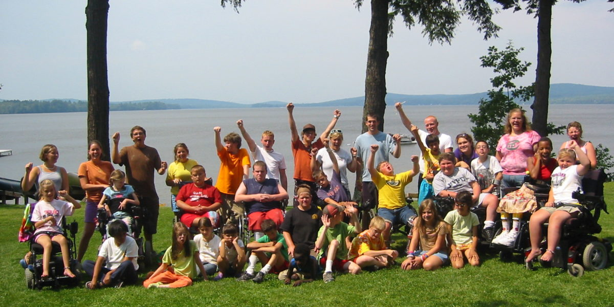 Pine Tree Camp group picture