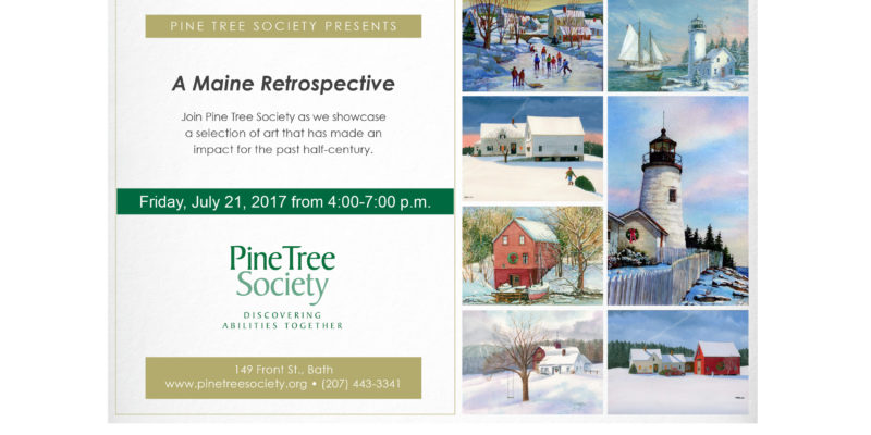 Pine Tree Society opens doors to art lovers during Bath Art Walk