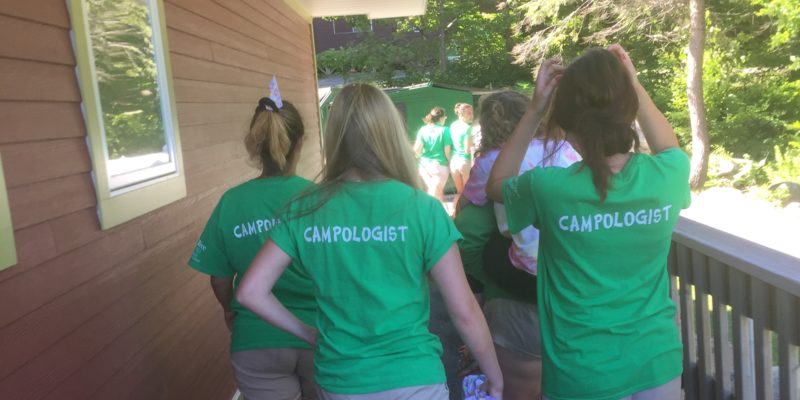What does it take to be a Pine Tree Camp Campologist?