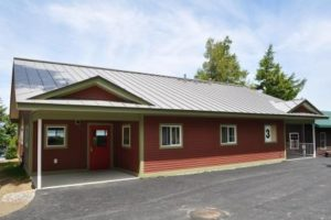 New cabin at Pine Tree Camp