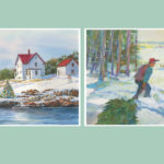 Pine Tree Society holiday cards 2017