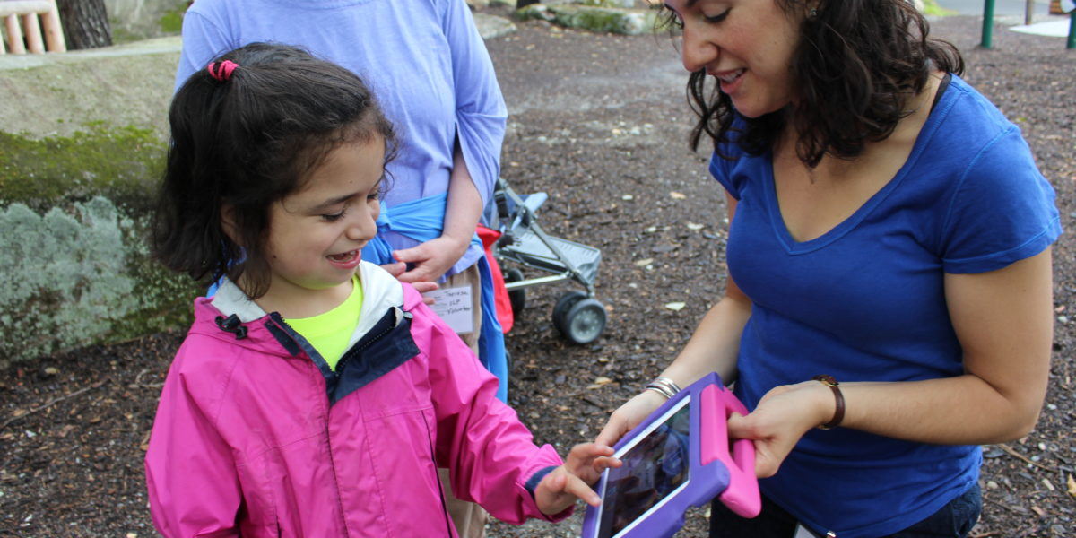 Pine Tree Camp Communicate Assistive Techology Device