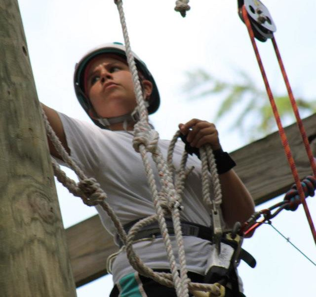 Pine Tree Camp Ropes Course