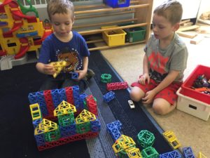 Early Learning Center building toys