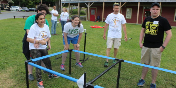 Camp Communicate lawn games