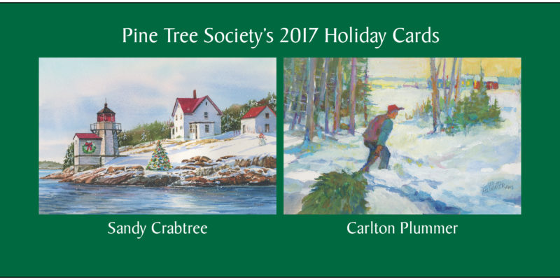 Pine Tree Society reveals 2017 Holiday Card designs