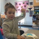 Craft time at the Early Learning Center