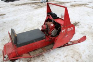 antique snowmobile 2