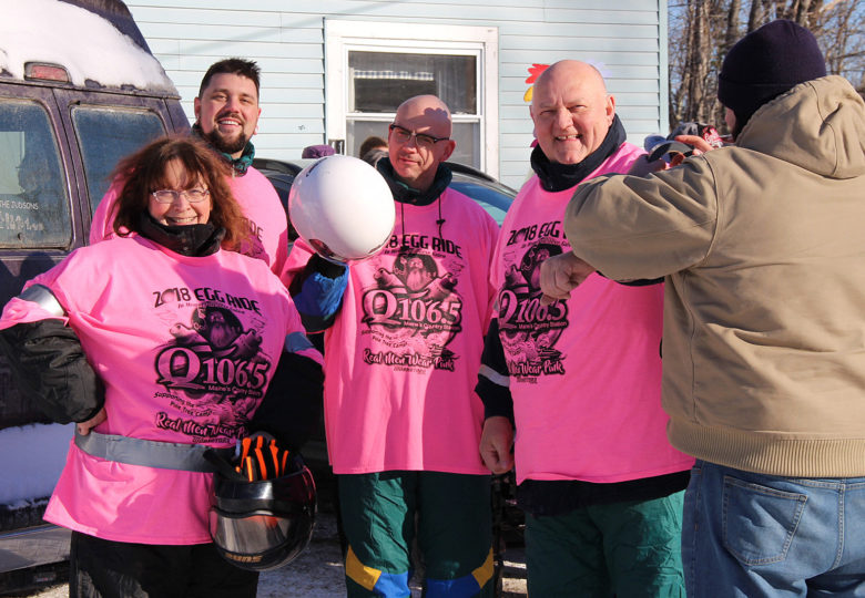 View Q106.5 Celebrity Egg Ride to benefit Pine Tree Camp