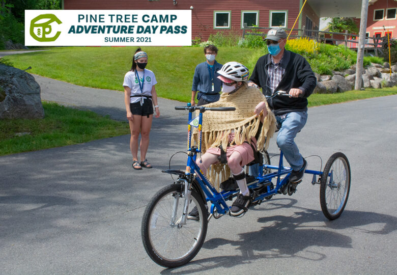 View Enjoy summer with no barriers at Pine Tree Camp!